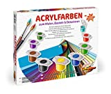 Schipper 605190741 - Acrylfarben Set mit 36 Farben
