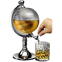 Revolving Unique Attractive New Extraordinary Globe Liquor Dispenser For Home And Work Perfect For Parties And Outings - By Flintstop