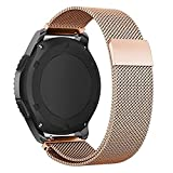 Samsung Gear S3 elastici in acciaio INOX, Efanr unisex Classic 22 mm milanese loop fibbia magnetica Watch Band strap cinturino bracciale per Gear S3 sport Smart Watch accessori