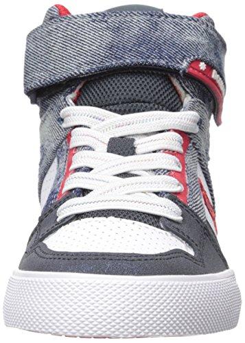 DC - - Spartan haut Se High Top Chaussures garçon Destroy Indigo