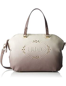 Liu Jo Damen Lucciola Boston Bag Bowling Tasche, 15x28x35 cm