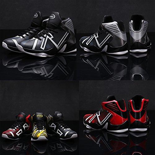 2017 Scarpe da Basket Uomo Sportive Outdoor Sneakers Nero