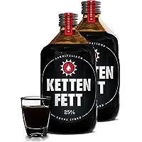 Kettenfett Lakritz Likör 2 Flaschen a 0,5l