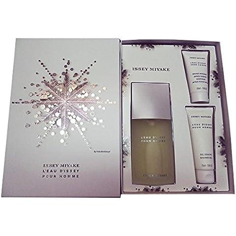 Issey Miyake L'Eau D'Issey Homme - Agua de perfume, 3 piezas, 200 gr