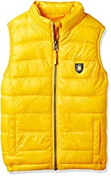 Mothercare Boys Regular Fit Synthetic Jacket (JG955-1_yellow_5 - 6 years)