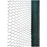 Green Blade BB-CW116 10 x 0.9m PVC Coated Galvanized Wire Netting with 25mm Mesh