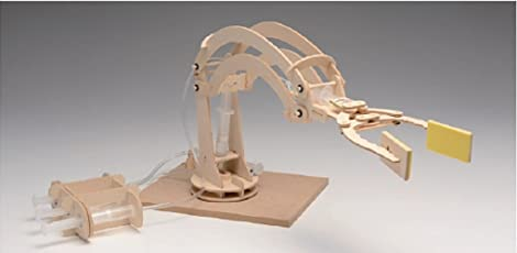 Divine Wooden Hydraulic Robotic Arm Kit