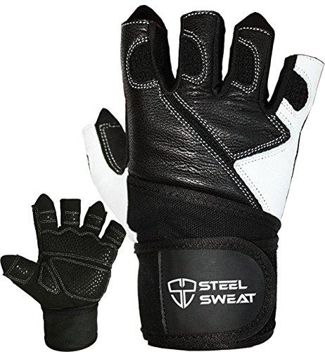 Gewichtheben Handschuhe mit über 18Handgelenkbandage Unterstützung für Workout, Fitness und...