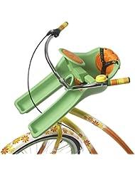 iBert Ibertgreen Sillita Portabebé Bicicleta, Unisex bebé, Verde, S