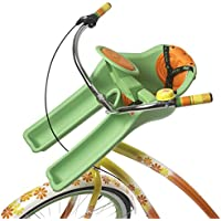 I Bert Ibertgreen Sillita Portabebé Bicicleta, Unisex bebé, Verde, S