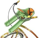 iBERT Safe T - Seggiolino sicuro per bicicletta, colore verde