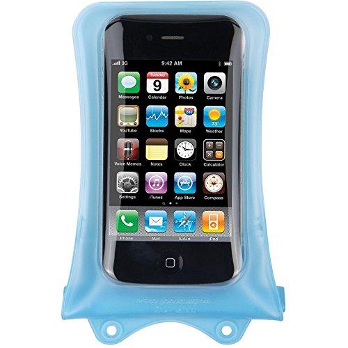DiCAPac WP-i10 Unterwassertasche (iPhone, bis 10m wasserdicht, Schutz vor Wasser, Sand und Schnee, Schutzhülle, geeignet für iPhone SE / 5 / 4S / 4, iPod und andere kompakte Smartphones bis 12,5 x 7cm transparent