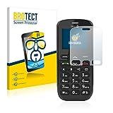 BROTECT Schutzfolie kompatibel mit Doro PhoneEasy 508 [2er Pack] klare Bildschirmschutz-Folie