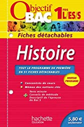 Objectif Bac - Fiches détachables - Histoire 1ères