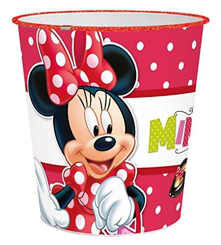 nnie Mouse Papierkorb, ca. 22,6 x 21 cm, Kunststoff (Minnie Maus-korb)