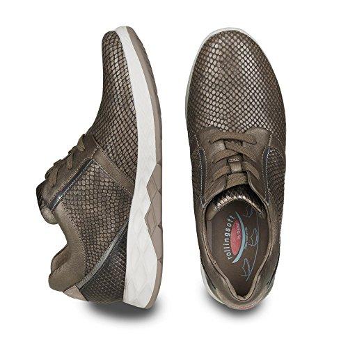 995 13 Gabor Chaussures Vert pour lacets à femme 56 de ville R6qq5PnEw