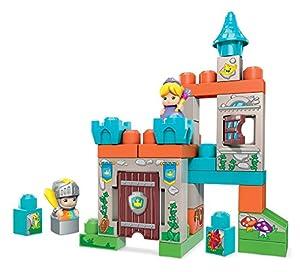 Mega Bloks Castillo de Cuento, Bloques y Piezas de Construcción, Juguetes Bebés 1 Año (Mattel FMC01)