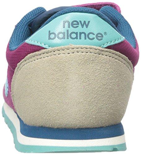 New Balance Bambina Baskets Patta A Strappo Ke420 Purple/Aqua