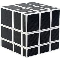 Puzzle Cube Coolzon® Nouveau Cubo Autocollant de Carbone Fibre Ultra Rapide