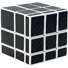 Espejo Puzzle Cube Coolzon® Cubo Magico con Pegatina de Fibra de Carbono Velocidad