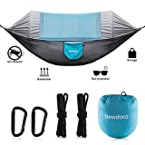 Best Camping Hammocks - Newdora Hammock with Mosquito Net 2 Person Camping Review