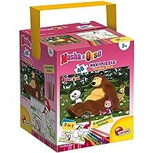 Lisciani 48465 48pieza(s) rompecabeza - Rompecabezas (Jigsaw puzzle, Dibujos, Masha on the grass, 3 año(s), Caja de cartón, Italia)