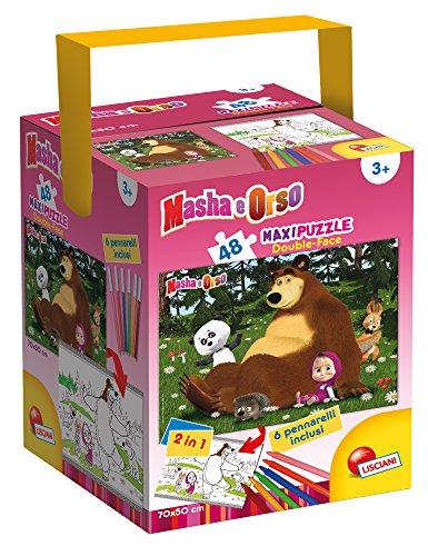 Lisciani Giochi 48465 - Masha e Orso On The Grass Puzzle con...