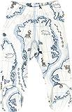 JOHA Baby Jungen Hose mit Fuss Strampelhose ARCTIC ZONE aus Merinowolle und Bambus in blau Größe 56-62 (1-4 Monate)