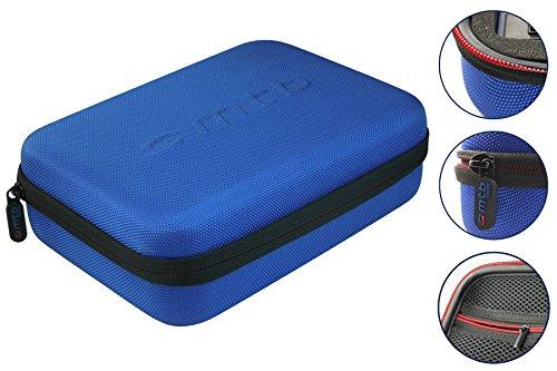 mtb more energy® Schutztasche (XL) für GoPro Hero4 / Hero3+ / Hero3 - Blau