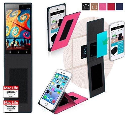 reboon Hülle für Gionee Elife E7 32GB Tasche Cover Case Bumper | Pink | Testsieger