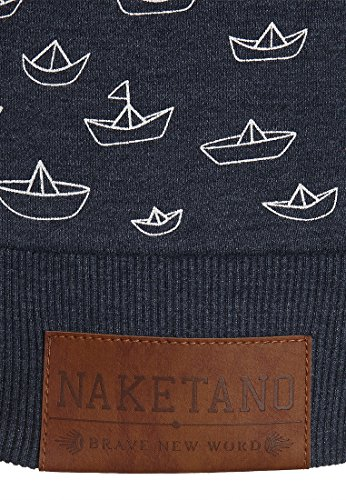 Naketano Female Zipped Jacket Speed Ferocity Training Indigo Blue Melange