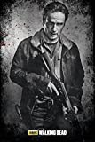 GB eye The Walking Dead, Rick Black and White, Maxi Poster, 61x91.5cm