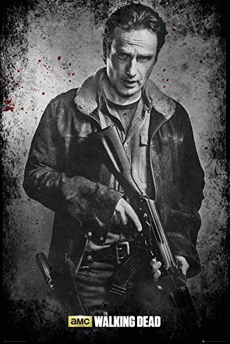 GB eye, The Walking Dead, Rick Black and White, Maxi Poster, 61x91.5cm
