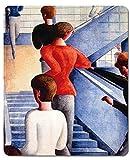 1art1 117078 Oskar Schlemmer - Bauhaustreppe, 1932 Mauspad 23 x 19 cm