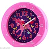 Ravel Childrens Girl's Time-Teacher Pony Horse Alarm Clock