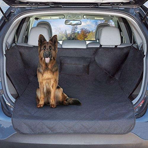 PETMAKER Cargo Liner Hund Sitz, gesteppt wasserfest alle Wetter Rutschfeste Pet Travel Mat mit Seite Deckung und Bumper Klappe Displayschutzfolie für SUV