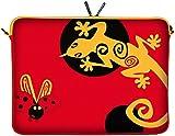 DIGITTRADE LS145-10 Lady Beetle Designer Netbook Sleeve 10.1