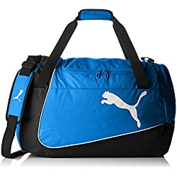 PUMA bolsa de deporte Evopower medio Bag Azul Team Power Blue/Black/White Talla:63 x 26 x 33 cm, 54 Liter