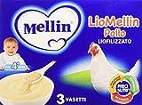 Mellin Liomellin Pollo Liofilizzato 3 Vasetti da 10g