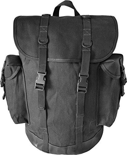Jäger-Rucksack mit wasserdichtem Bodenteil, in verschiedenen Farben Schwarz