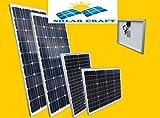 Solarmodul 100 Watt 12 V Polykristalline Photovoltaik Garten Camping PV