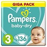 Pampers Baby Dry Gr.3 Midi 6-10kg Giga Pack