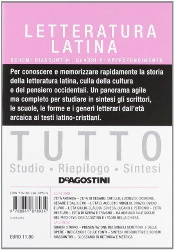Zoom IMG-2 tutto letteratura latina