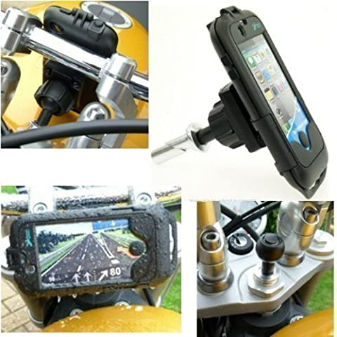Impermeabile iPhone 4S Honda CBR600RR 2007 supporto da manubrio