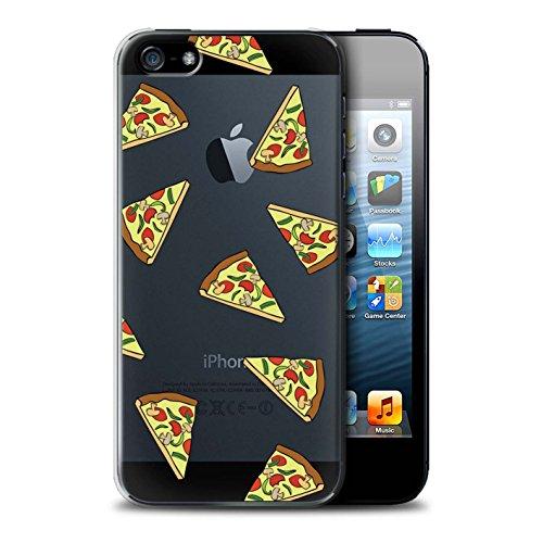 Stuff4 Hülle / Case für Apple iPhone 5/5S / Pizza Muster / Stück Lebensmittel Kollektion Pizza
