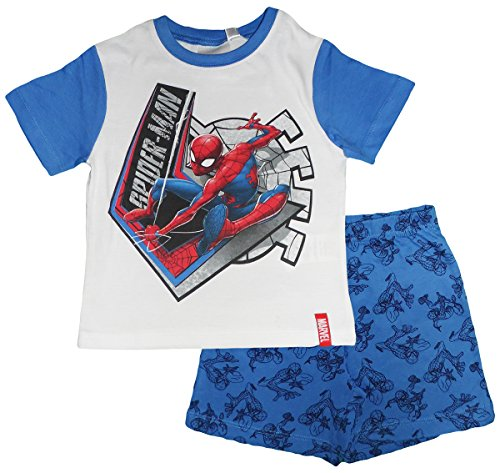 Marvel Spiderman Boys Summer Pajamas