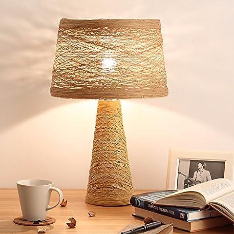 Lampe De Bureau Cane Art Lampe Étude Chambre Au Chevet