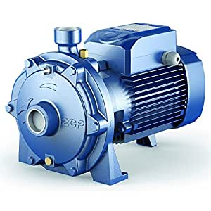 Twin Impeller Electric Water Pump 2CP 32/210A 10Hp 400V Pedrollo