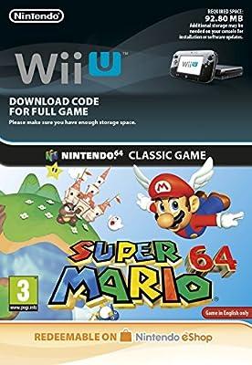 Super Mario 64 [Wii U Download Code]