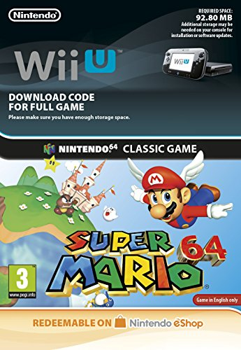 Super Mario 64 [Wii U Download Code]